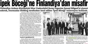 İpekböceğine Finladiya'dan Misafir 10.05.2013