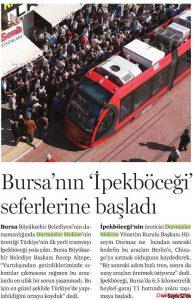 Bursa'nın İpekböceği Seferlerine Başladı. 14.10.2013